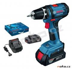 Bosch GSR 18-2-LI Professional Aku vrtací šroubovák 2x1,5Ah