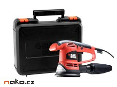 BLACK&DECKER KA191EK excentrická bruska 125mm