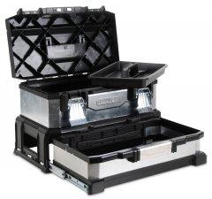 STANLEY 1-95-830 kovoplastový box na nářadí se zásuvkou galvanizova...