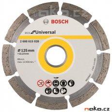BOSCH diamantový řezný kotouč Eco for Universal 125x22mm 2608615028...