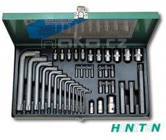 HONITON H4340 sada TORX T9-T70, E4-20 (40 dílů)