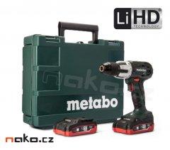 METABO SB 18 LT příklepová aku vrtačka 2x3,1Ah LiHD 602103670