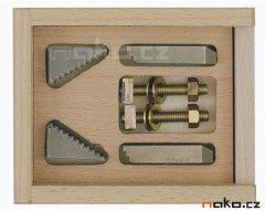 PROXXON 24256 stupňovité upínky pro MF 70 a stůl KT 70