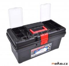LEMCO 1460 kufr na nářadí plastový 415mm, polička P1400, organizery...