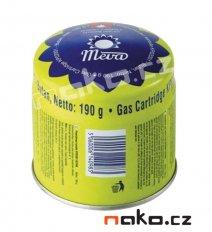 Plynová kartuše propichovací 190g butan KP02001