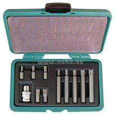 HONITON H4011 sada bitů 10mm XZN M5-M12 (11 dílů)