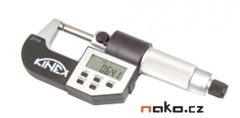 KINEX mikrometr třmenový digitální 125-150mm, 0,001mm, 7035