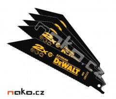 DeWALT DT2407 pilový list 152x1,8-1,4mm BiM do ocasky, ocel, 5ks