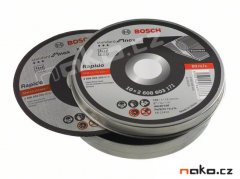BOSCH sada kotoučů 125x1mm 10ks Standard for Inox 2608603255
