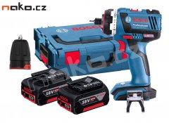 BOSCH GSR 14,4 V-EC FC2 Flex Professional aku vrtačka L-Boxx 2x 4Ah...