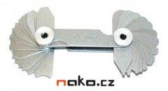 KINEX 1140 rádiusové šablony R 1-7mm 253816