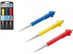 EXTOL PREMIUM sada důlčíků CR-V 0.8, 1.5, 2.5mm 8801810