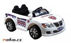 HECHT 55058 dětské aku autíčko policie 12V, 7Ah, 2x 30W