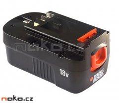 BLACK&DECKER akumulátor 18V 1,5Ah NiCd 5103553-00 ORIGINÁL