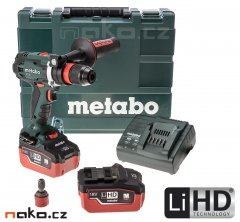 METABO BS 18 LTX Quick aku vrtačka 2x5,5Ah LiHD 602193660