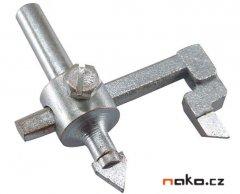 EXTOL CRAFT vykružovák otvorů do kachliček, 20-90mm 103900