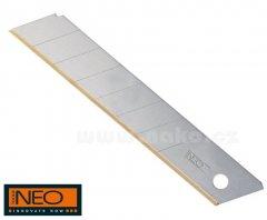 NEO TOOLS čepel náhradní 18mm ulamovací TITAN 10ks 64-020