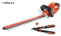 BLACK&DECKER GT5055KIT2 nůžky na živý plot 55cm + ruční nůžky