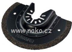DeWALT DT20717 karbidová čepel pro odstraňování spárovacího materiálu 3mm