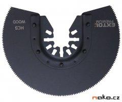 EXTOL PREMIUM 8803854 kotouč segmentový pilový na dřevo do oscil. b...