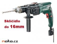 METABO SBE 760 dvourychlostní příklepová vrtačka 750W, 16mm
