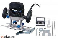 FERM EBF-1200 horní frézka se sadou fréz PRM1018