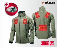 METABO vyhřívaná bunda aku HJA 14,4-18 vel. L s USB adaptérem 65701000