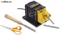 POWERPLUS POWX1350 multifunkční bruska na vrtáky, nože, nůžky, dlát...