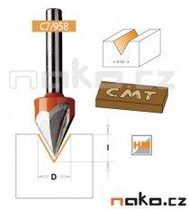 CMT C75800111 fréza na V-drážku 60° D12,7 S6
