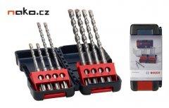 BOSCH sada vrtáků SDS plus 3 Toughbox 8ks 5,6,8mm 2607019903