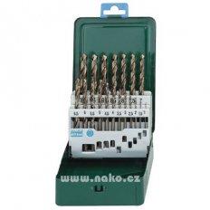 Metabo sada vrtáků HSS-Co 19 dílů 1-10mm po 0,5mm