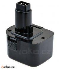 Black & Decker A9252 Ni-Mh 12V 3Ah, články PANASONIC - neoriginální...