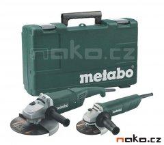 METABO combo set úhlových brusek v kufru WX 2200-230+W 820-125 6850...
