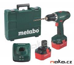 Metabo BS 12 NiCd aku vrtačka 12V 2x1,7Ah 602194500 FACELIFT
