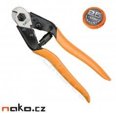 NEO TOOLS nůžky na ocelová lanka a drát 190mm 01-512