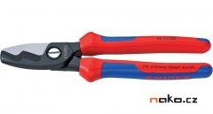KNIPEX 9512200 kabelové nůžky s dvojitým břitem