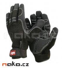 ISSA rukavice pracovní ISSA SHOCK 07206 vel.XL