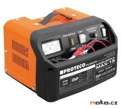 PROTECO MAX-15 nabíječka auto a moto baterií 12/24V 51.08-AN-1224