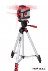 KREATOR KRT706230T1 samonivelační křížový laser 360° se stativem...