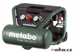 METABO Power 180-5 W OF přenosný bezolejový kompresor 601531000