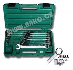 HONITON H0114 sada klíčů očkopl. DRIVER 6-19mm