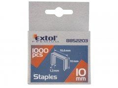 EXTOL PREMIUM spony 8mm 10,6x0,52x1,2mm 1000ks 8852202