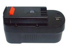 Black & Decker A1718 Ni-Cd 18V 2400mAh, články Sanyo - neoriginální...