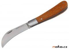 EXTOL PREMIUM 8855110 štěpařský nůž zavírací nerez 170/100mm