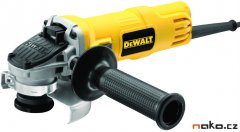 Bruska úhlová DeWALT DWE4151, malá, 125 mm s posuvným spínačem - 90...
