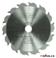 NAREX pilový kotouč 160x2,2x20 Gladiator 14TR 647504