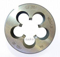 Závitová kruhová čelist 223210 HSS M12 /240 120/ 6g
