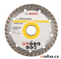 BOSCH diamantový řezací kotouč Eco for Universal TURBO 125x22mm 260...