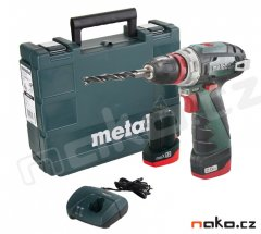 METABO PowerMaxx BS Quick Basic aku šroubovák 10,8V 2x2Ah Li-Ion 60...