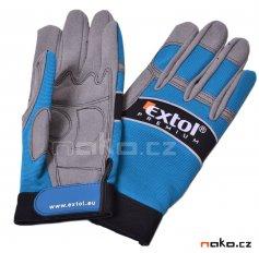 """EXTOL PREMIUM rukavice pracovní polstrované XXL/12"""" 8856604"""